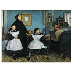 Edgar Degas 'The Bellelli Family 1858-67' Canvas Art