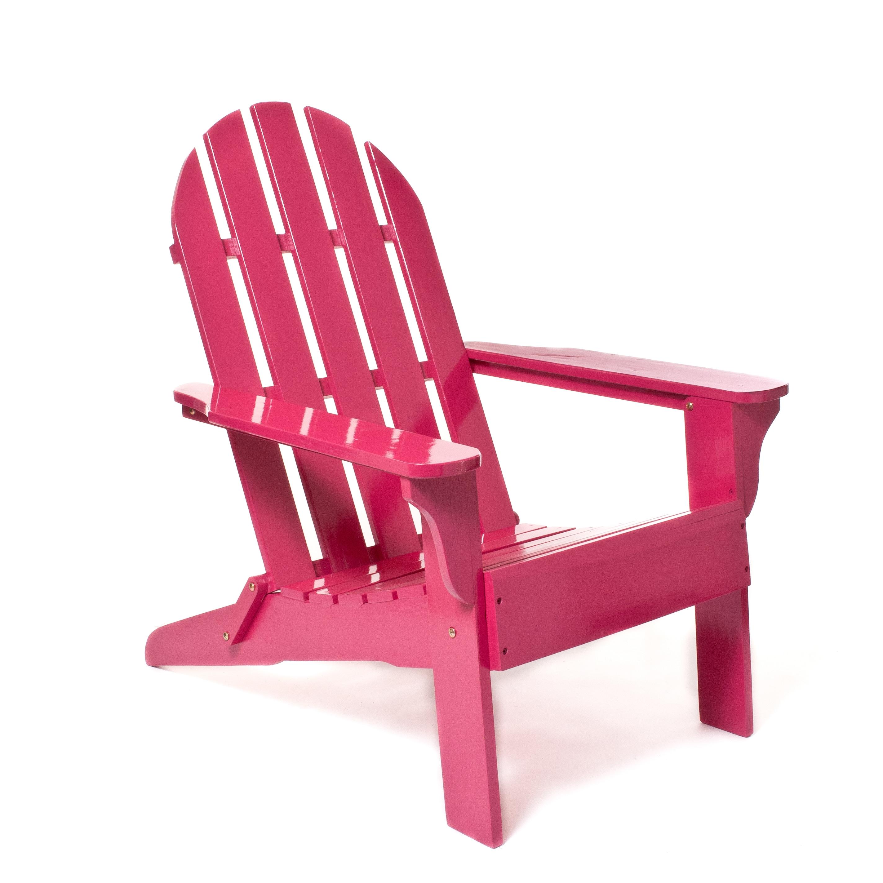 Fuchsia Adirondack Chair