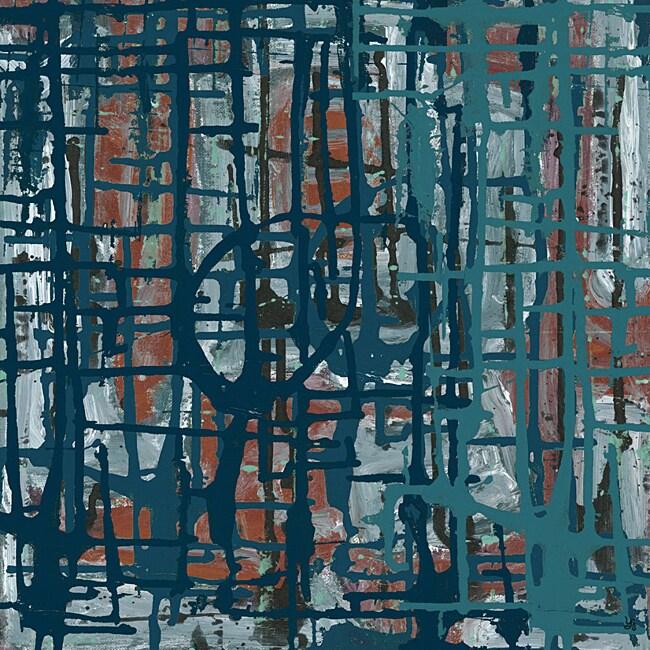 Ankan 'Net II' Medium Gallery-Wrapped Canvas Art