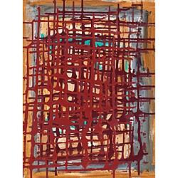 Ankan 'Feeling I' Gallery-wrapped Canvas Art