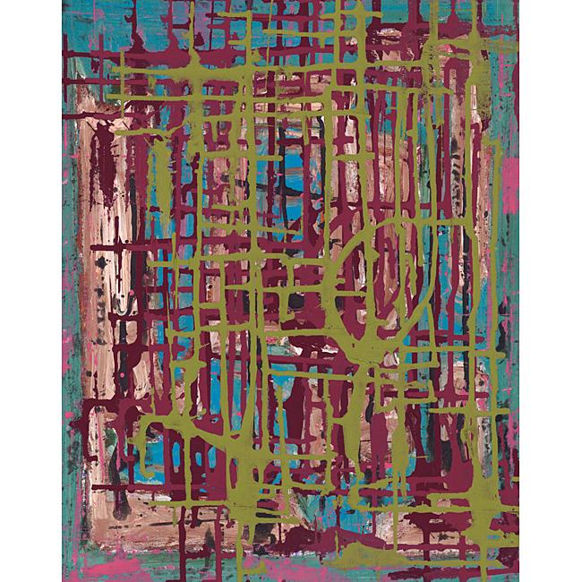 Ankan 'Feeling II' Gallery-wrapped Canvas Art