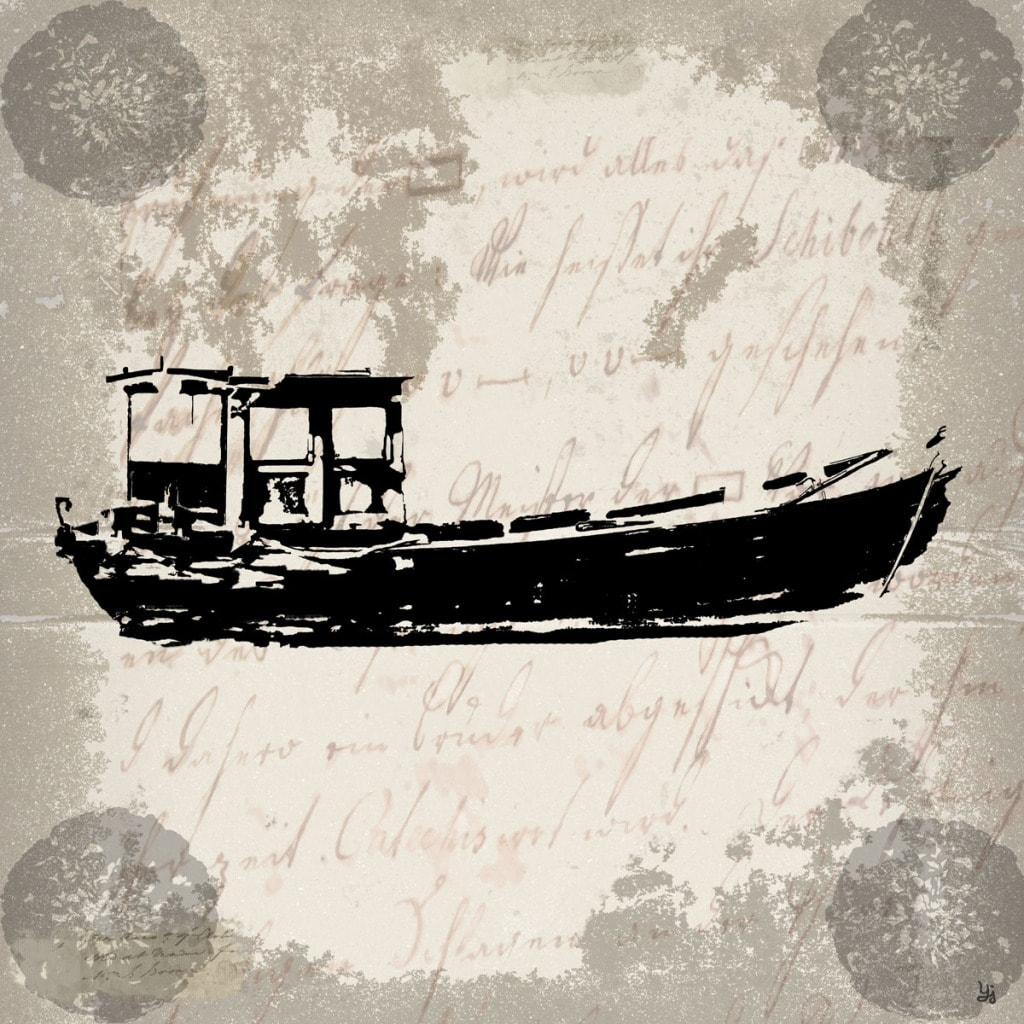 Ankan 'Vintage Boat I' Gallery-Wrapped Canvas Wall Art