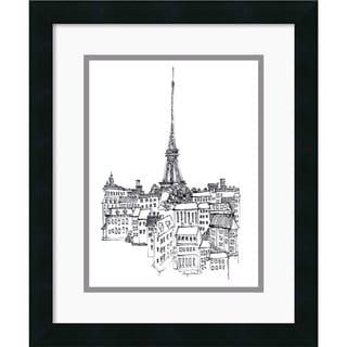 Avery Tillmon 'Eiffel Tower' Framed Art Print