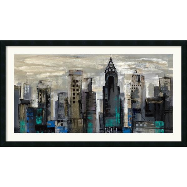 Silvia Vassileva 'New York Moment' Framed Art Print