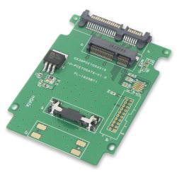SYBA mSATA SSD to 2.5-inch SATA Adapter SY-ADA40050