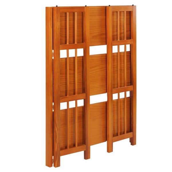 folding stackable 275inch bookcase free shipping today - Folding Bookcase