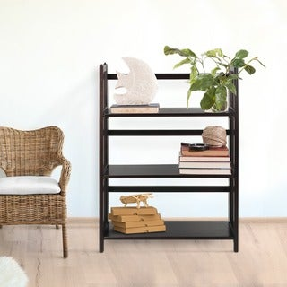 Folding Stackable 27.5-inch Bookcase