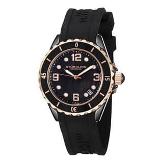 Stuhrling Original Women's Black Ceramic Watch|https://ak1.ostkcdn.com/images/products/6842432/Stuhrling-Original-Womens-Black-Ceramic-Watch-P14369126.jpg?impolicy=medium