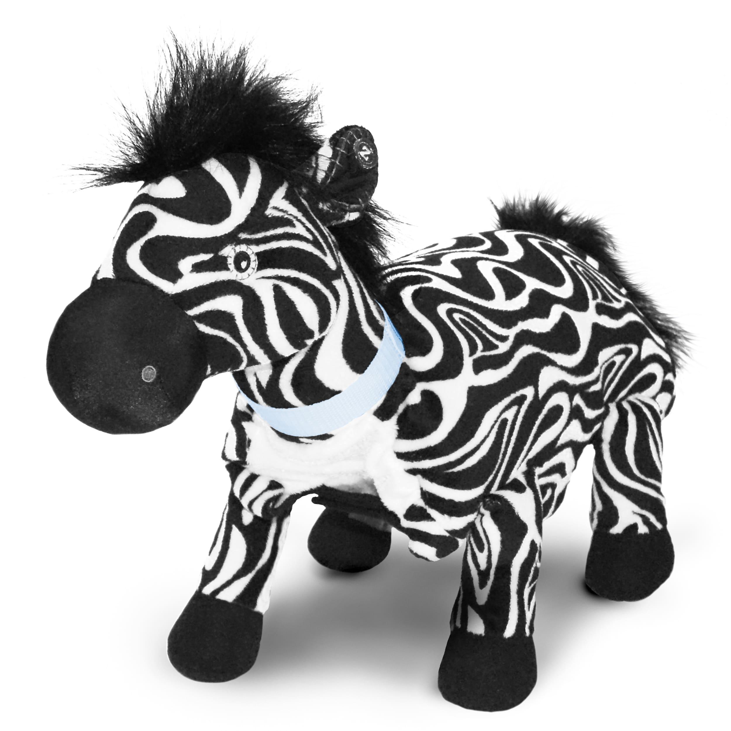 Zoobies Zulu the Zebra Blanket Pet