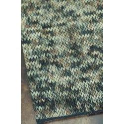 Hand-woven Gilderoy Charcoal Wool Rug (3'6 x 5'6)
