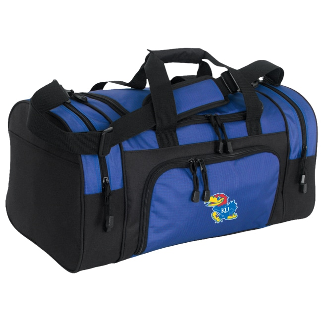 University of Kansas Collegiate Duffle Bag