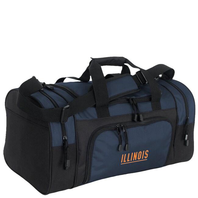 University of Illinois Collegiate Duffle Bag