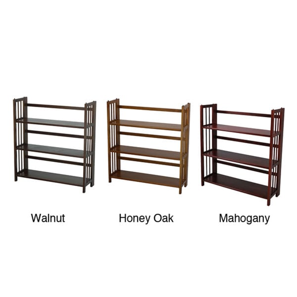 Folding Stackable Bookcase 35W