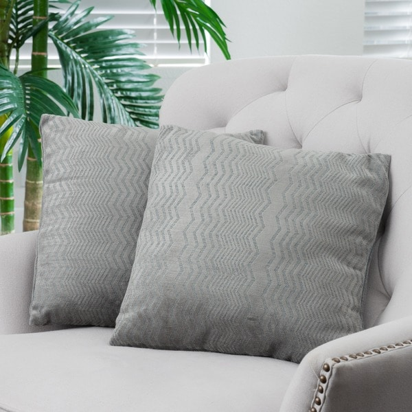 Balchier Modern Pillows (Set of 2) by Christopher Knight Home. Opens flyout.