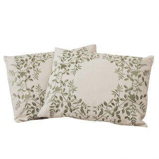 Christopher Knight Home Embroidered Pillows (Set of 2)