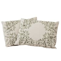 Embroidered Pillows (Set of 2) by Christopher Knight Home