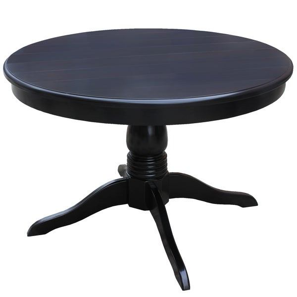 Metro Black Round Dining Table