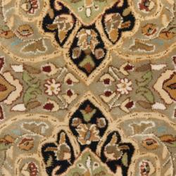 Safavieh Handmade Persian Legend Soft Green/ Ivory Wool Rug (2'6 x 12') - Thumbnail 2