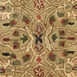 Safavieh Handmade Persian Legend Gold/ Rust Wool Rug (2' x 3') - Thumbnail 2