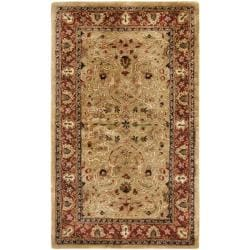Safavieh Handmade Persian Legend Gold/ Rust Wool Rug (2'6 x 4')