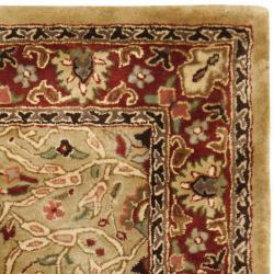 Safavieh Handmade Persian Legend Gold/ Rust Wool Rug (3' x 5')