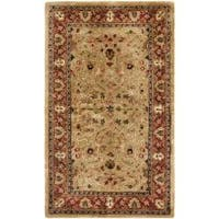 Safavieh Handmade Persian Legend Gold/ Rust Wool Rug - 3' x 5'