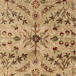 Safavieh Handmade Persian Legend Gold/ Rust Wool Rug (9'6 x 13'6)