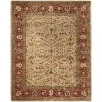 "Safavieh Handmade Persian Legend Gold/ Rust Wool Rug - 9'6"" x 13'6"""