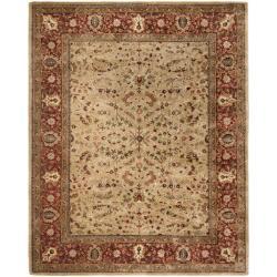 Safavieh Handmade Persian Legend Gold/ Rust Wool Rug (7'6 x 9'6)