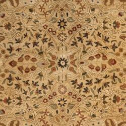 Safavieh Handmade Persian Legend Ivory/ Rust Traditional Wool Rug (7'6 x 9'6) - Thumbnail 2