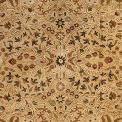 Safavieh Handmade Persian Legend Ivory/ Rust Wool Rug (8'3 x 11') - Thumbnail 2
