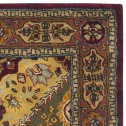 Safavieh Handmade Persian Legend Multi/ Rust Wool Rug (2'6 x 12')