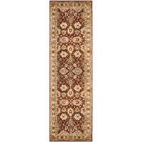 Safavieh Handmade Persian Legend Rust/ Ivory Wool Rug (2'6 x 10') - 2'6 x 10'
