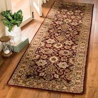 "Safavieh Handmade Persian Legend Rust/ Ivory Wool Rug - 2'6"" x 8'"