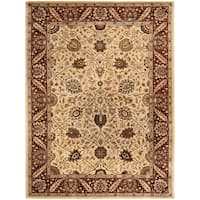 "Safavieh Handmade Persian Legend Ivory/ Red Wool Rug - 8'3"" x 11'"