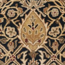 Safavieh Handmade Persian Legend Blue/ Gold Wool Rug (2' x 3') - Thumbnail 2