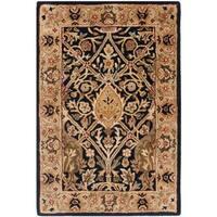 Safavieh Handmade Persian Legend Blue/ Gold Wool Rug - 2' X 3'
