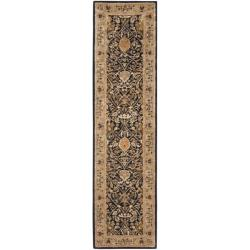 Safavieh Handmade Persian Legend Blue/ Gold Wool Rug (2'6 x 12')