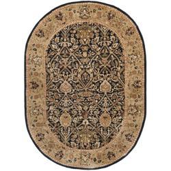 Safavieh Traditional Handmade Persian Legend Blue/ Gold Wool Rug (7'6 x 9'6)