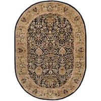 Safavieh Traditional Handmade Persian Legend Blue/ Gold Wool Rug (7'6 x 9'6)