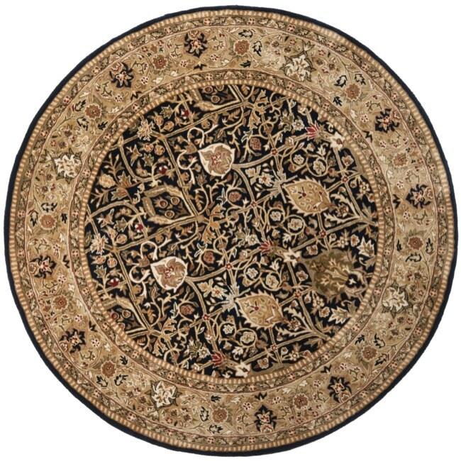 Safavieh Pl537a Persian Legend Wool Hand Tufted Rust Navy: Safavieh Traditional Handmade Persian Legend Blue/Gold