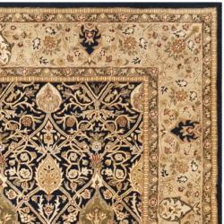 Safavieh Handmade Persian Legend Blue/ Gold Wool Rug (7'6 x 9'6)