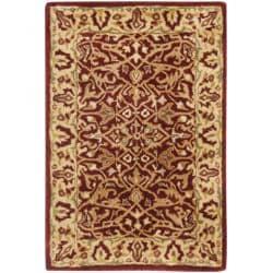Safavieh Handmade Persian Legend Rust/ Beige Wool Rug (2' x 3')