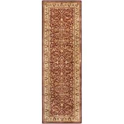 Safavieh Handmade Persian Legend Rust/ Beige Wool Rug (2'6 x 10')