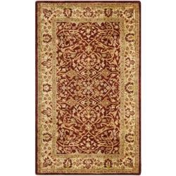 Safavieh Handmade Persian Legend Rust/ Beige Wool Rug (3' x 5')