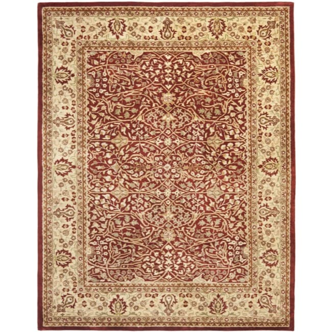 Safavieh Handmade Persian Legend Rust/ Beige Wool Rug (9'6 x 13'6)