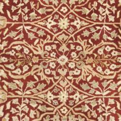 Safavieh Handmade Persian Legend Rust/ Beige Wool Rug (8' x 10')