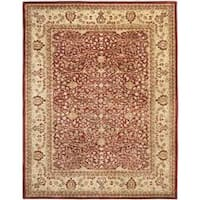 Safavieh Handmade Persian Legend Rust/ Beige Wool Rug - 8' x 10'