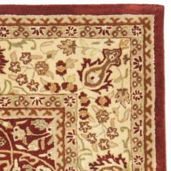 Safavieh Handmade Persian Legend Rust/ Beige Wool Rug (8'3 x 11')