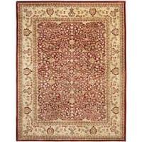 Safavieh Handmade Persian Legend Rust/ Beige Wool Rug (8'3 x 11') - 8'3 x 11'